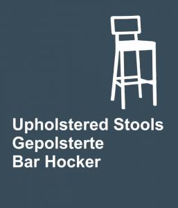 uphostelred stools